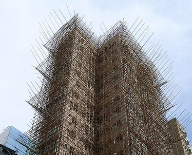 byggnadsställningar