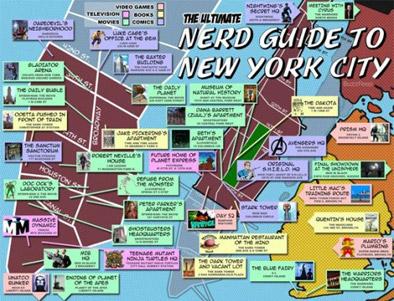 sevärdheter new york karta Hovbergs blog: Nördguide till NYC sevärdheter new york karta