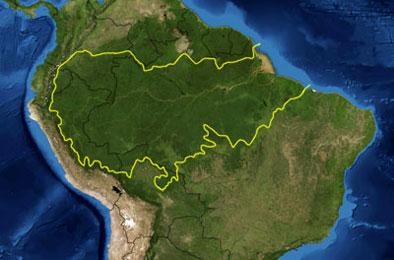 karta amazonas Ecosystems, Biomes, Nature of Exotic Brazil • Blog Thefob karta amazonas