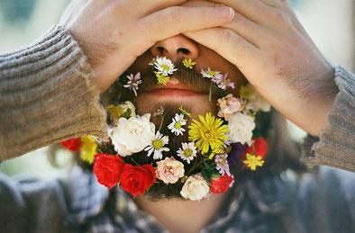blommor till män