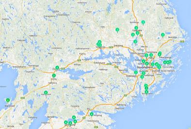 karta mellansverige Hovbergs blog: Netatmo väderkarta karta mellansverige